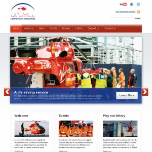 London's Air Ambulance launches new hard-to-find website