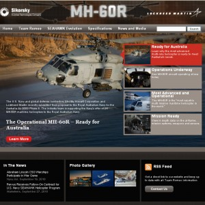 Sikorsky and LockMart launch MH-60R microsite