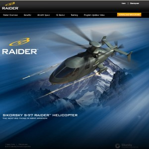 Sikorsky launch microsite for S-97 Raider