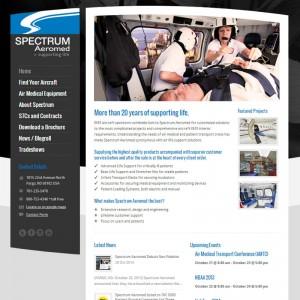 Spectrum Aeromed Debuts New Website