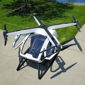 Workhorse brings two-person SureFly octocopter to Manhattan public